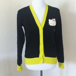 Sweaters - Hello Kitty Nerd Cardigan