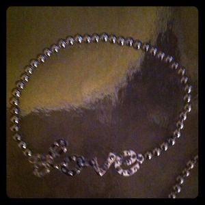 Love bracelet in silver