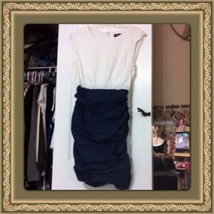 Great rouched dress NWOT