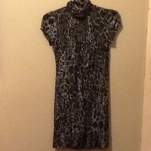 Cute animal print dress price reduced