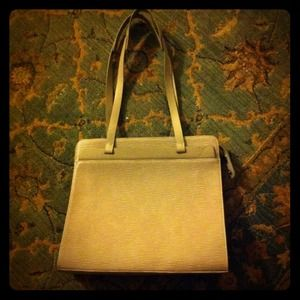 Louis Vuitton tote.  Grey Epi Leather.