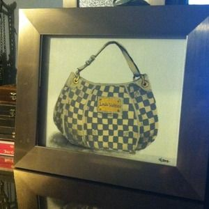 "Sarah Jane  ""Louis Vuitton"" handbag painting 👜"