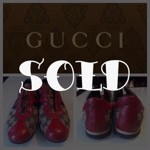 Gucci Red & Blue Sneaker