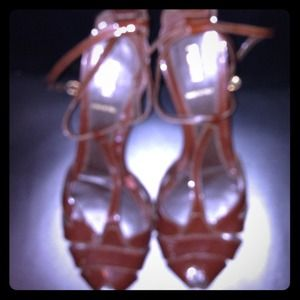 REDUCED Authentic Fendi Patent Leather Sandal
