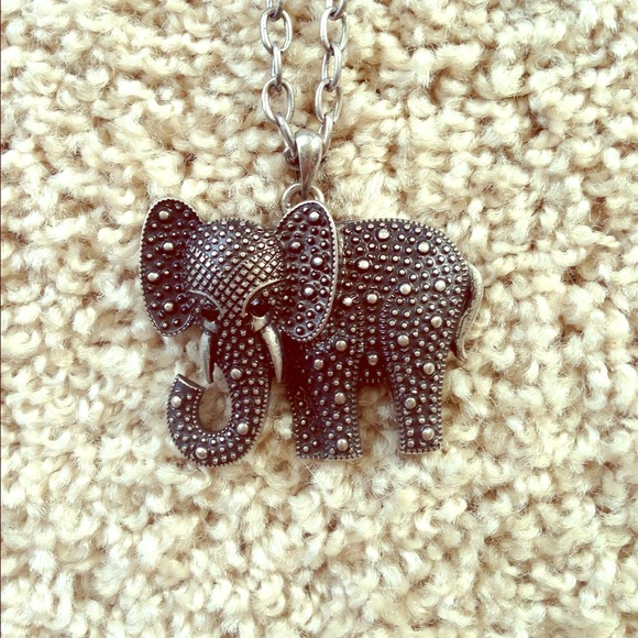 Baublebar Jewelry - Elephant necklace by Baublebar