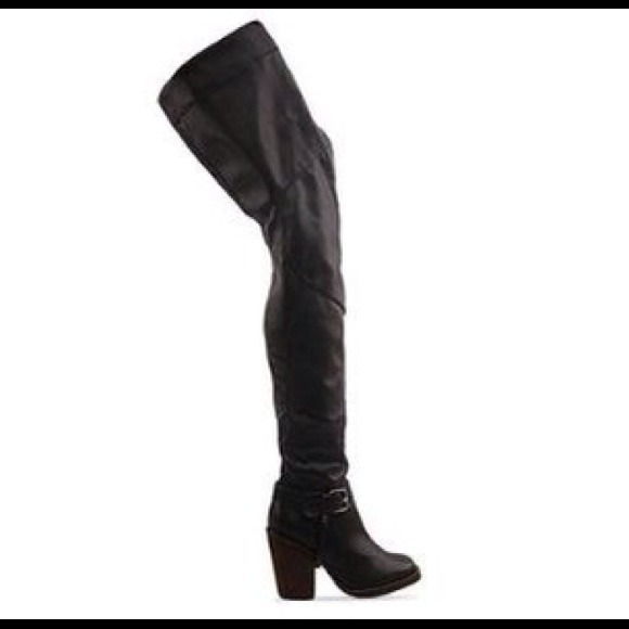 Jeffrey Campbell Thigh High Boots - Cr Boot