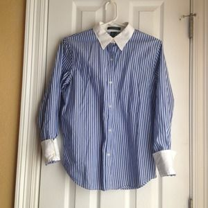 Striped Button Down Lauren Ralph Lauren Shirt