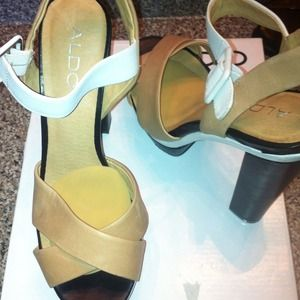 Color block Aldo sandals