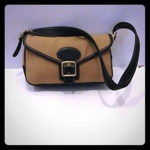 Coach Bags Canvas Legacy Demi Flap Shoulder Bag Purse