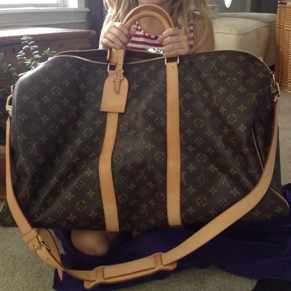 4819a92e8964 Louis Vuitton Handbags - Authentic Louis Vuitton Keepall Bandouliere 55
