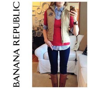Banana Republic Tops - Banana Republic Rouched Knit Top
