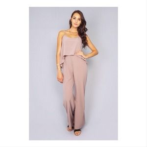 New Jumpsuit in Taupe