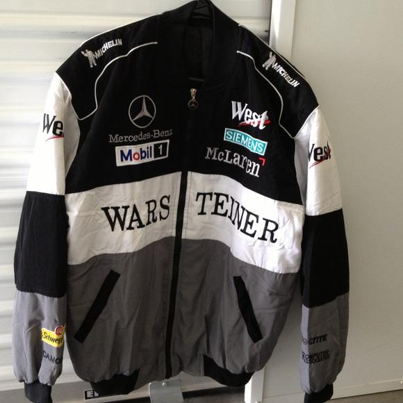 Mercedes Benz Leather Jacket: Racing Jacket Benz