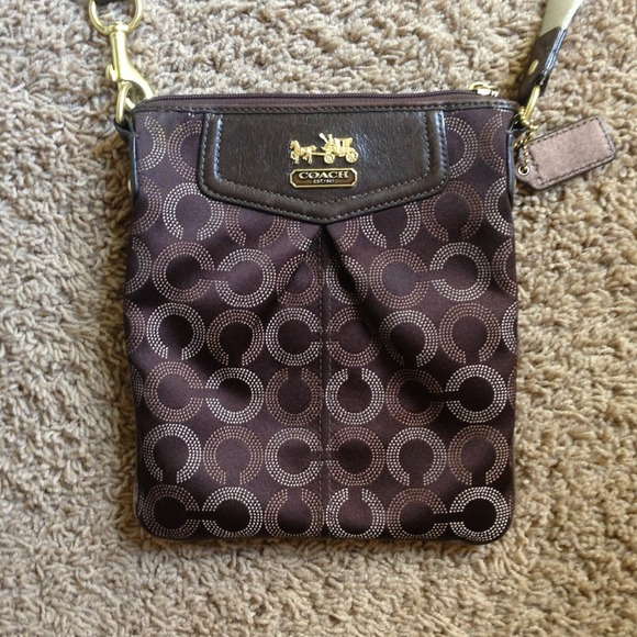 57% off Coach Handbags - Brown over the shoulder coach purse from ...