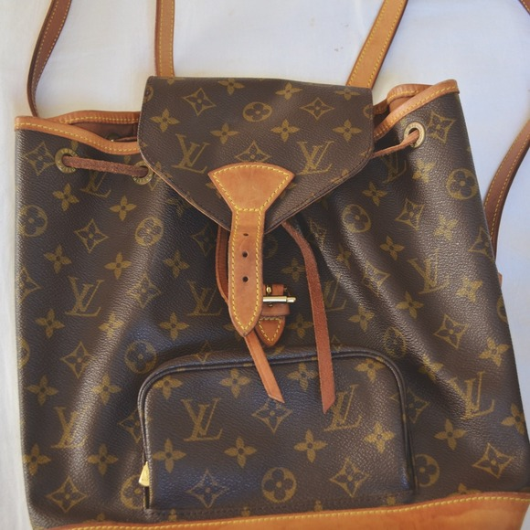 Louis Vuitton Handbags - Louis Vuitton LV Montsouris Backpack Authentic Bag d1726e1a8e5a3