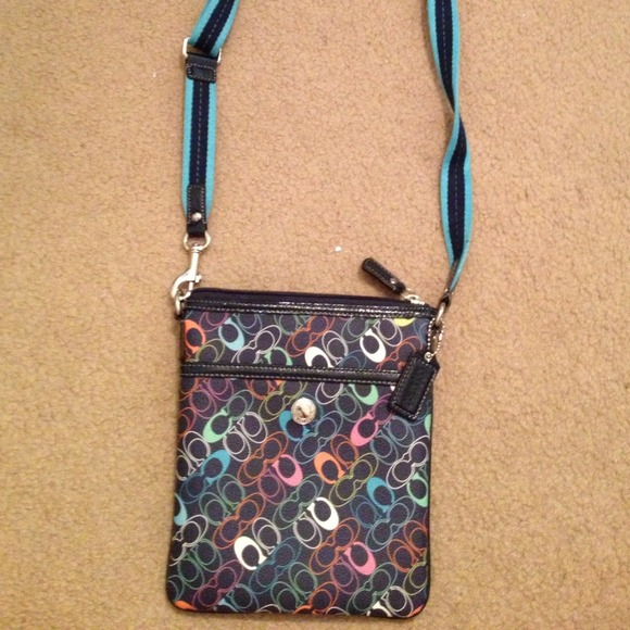 7b2f3d7e30d2 Coach Handbags - Colorful Small Coach Crossbody Bag