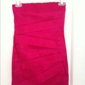 Forever 21 Dresses & Skirts - Hot pink mini dress