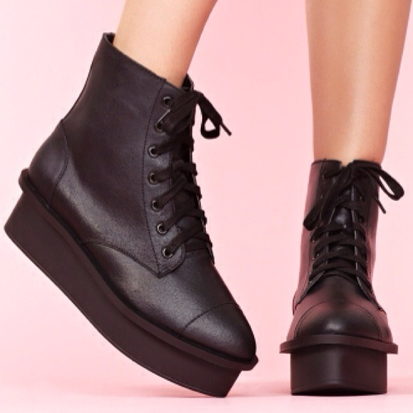 78% off Cheap Monday Shoes - Cheap Monday Platform Boots from ...