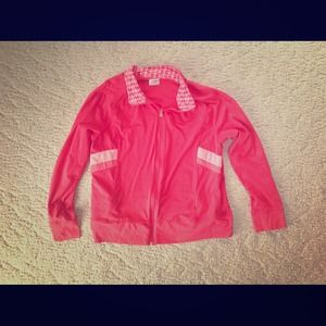 Danskin Now Outerwear - Coral Danskin Now  Jacket Sz XXL/2XG
