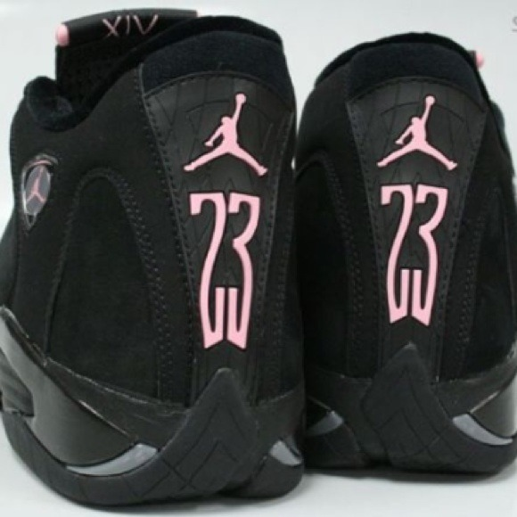 official photos fb37d 0159f Air Jordan 14 (XIV) Retro WMNS - Black / Pink Ice