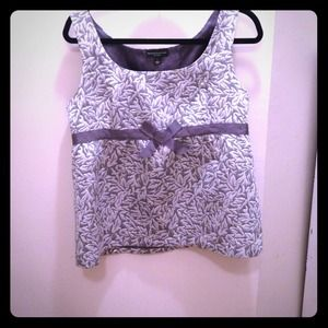Behnaz Sarafpour Tops - Dressy silver top by Behnaz Sarafpour for Target