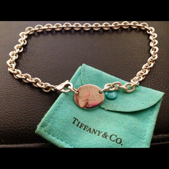 3f5fe775f Tiffany & Co. Jewelry | Tiffany And Co Signature Tag Chokernecklace ...
