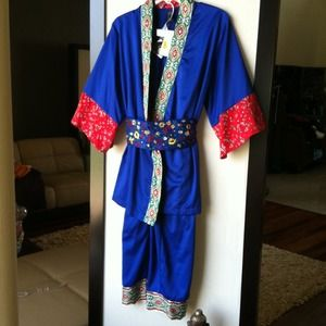 Beautiful OBI Wrap Pajama Set-Perfect Gift