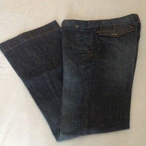 EDUN Denim - Edun medium wash denim trouser jeans.