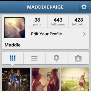 FOLLOW ME ON INSTA @madddiepaige