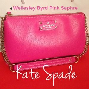 kate spade Clutches & Wallets - 🎉HOST PICK🎉♠Kate Spade Wellesley Byrd PinkSaphre