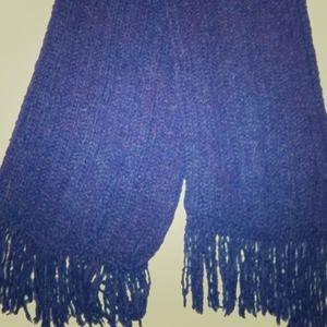 Super soft navy scarf