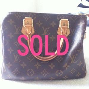 Louis Vuitton Handbags - SOLD Price reduced more! Louis Vuitton 25 speedy