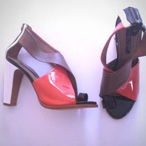 REDUCED Three-tone ZARA heels