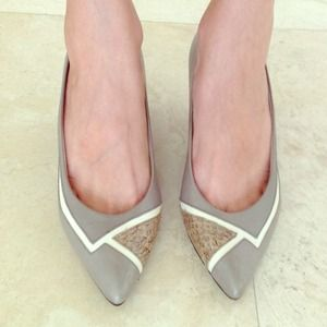 Heather Grey Pumps