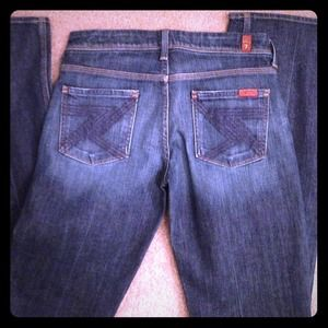 ❤Reduced❤7 For All Mankind Boot cut jeans