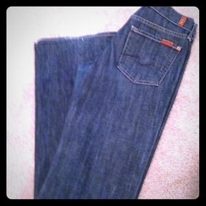 ❤Reduced❤Boot cut 7 for all mankind jeans