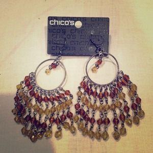 ✂✂Chicos Brown Dangle Earrings!