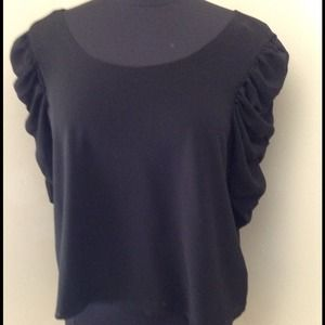 Forever 21 Tops - F21 puffed sleeved sheer top