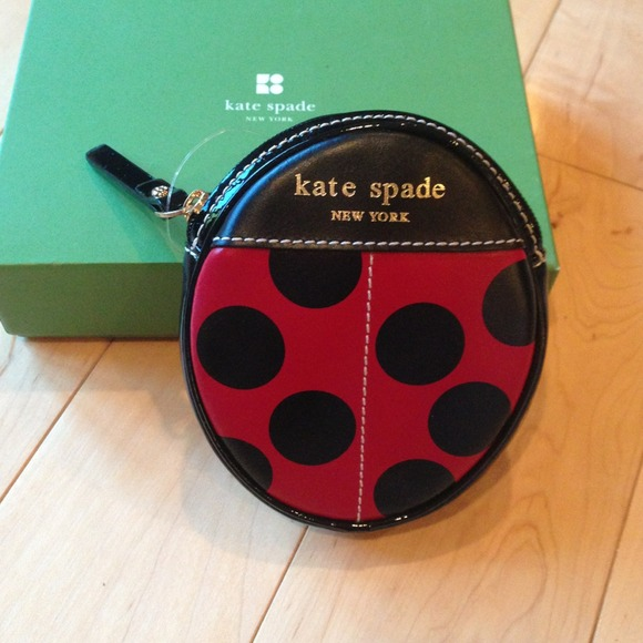 🎉Host pick🎉 Kate Spade ladybug coin pouch *RARE*