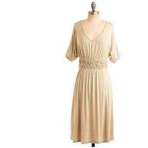 Pistachio goddess dress