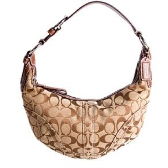 amazing selection where can i buy various colors *REDUCED* Small Soho Signature Hobo Coach Bag!