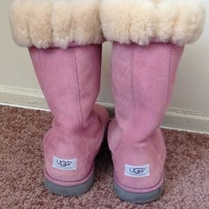 Reserved..Ugg Australia Pink Boots