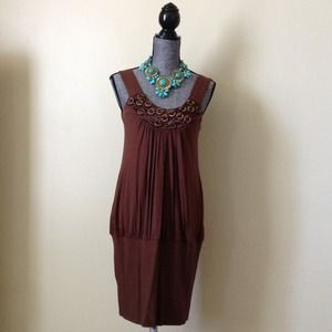 Arden B. Brown Dress