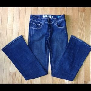 DONATED Hydraulic Liberty Classic Hipster Jeans