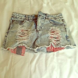 Forever 21 Denim - high waisted shorts