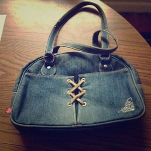 Roxy jean purse with matching wallet