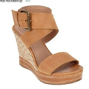 matisse Shoes - Leather ankle strap wedge 3