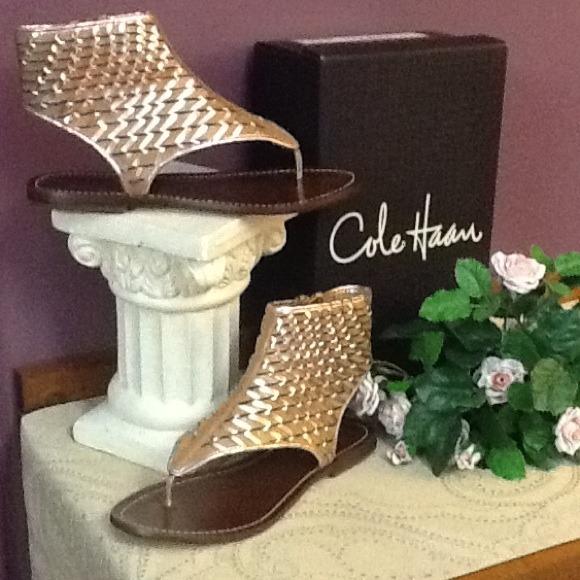 e1b7da74f54 Cole Haan Shoes - Cole Haan Eve Gladiator Sandals 🌺HOST PICK 6 18🌺