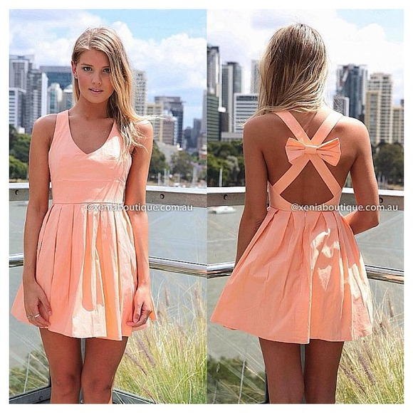 d3d26414596 Blessed angel dress in apricot