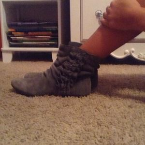 REDUCEDRuffled Booties